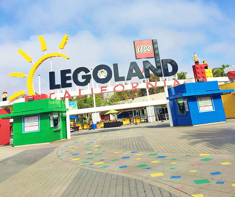 family summer vacation planning - Legoland California
