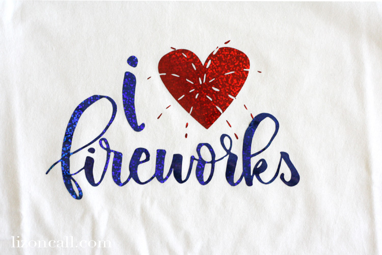 Create these easy DIY patriotic shirt with heat transfer vinyl and this free cut file.