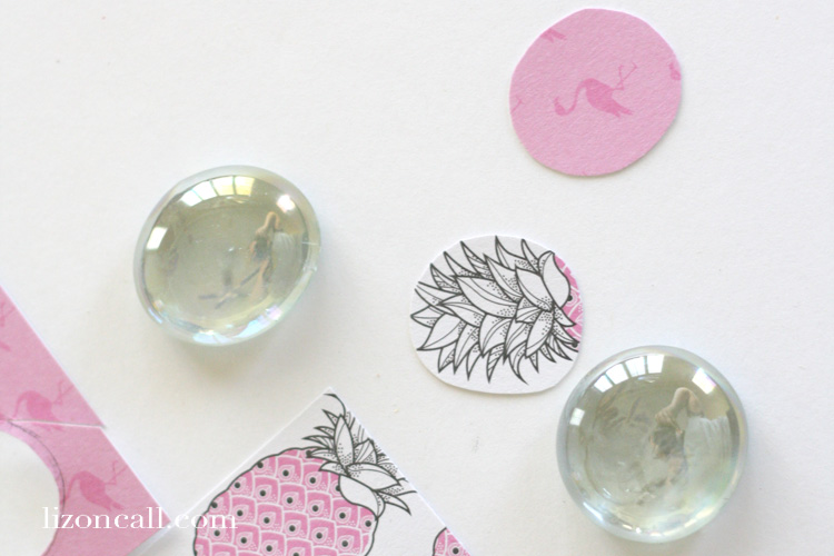 These glass bead magnets are a fun and easy craft for craft club, girls camp or even just a rainy day.