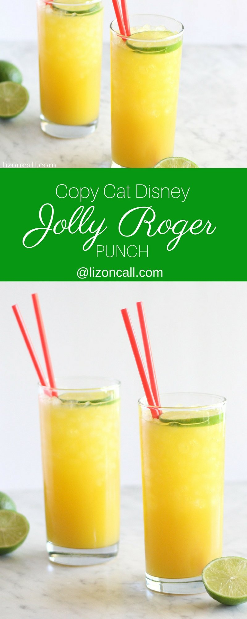 This copycat version of the Jolly Roger Punch just might be better than the original found at Disney for the 50th anniversary of the Pirates of the Caribbean.