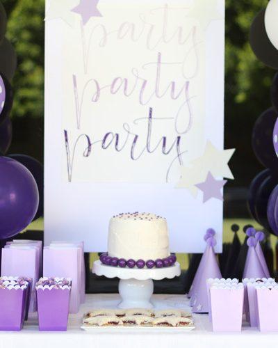Purple Birthday Party