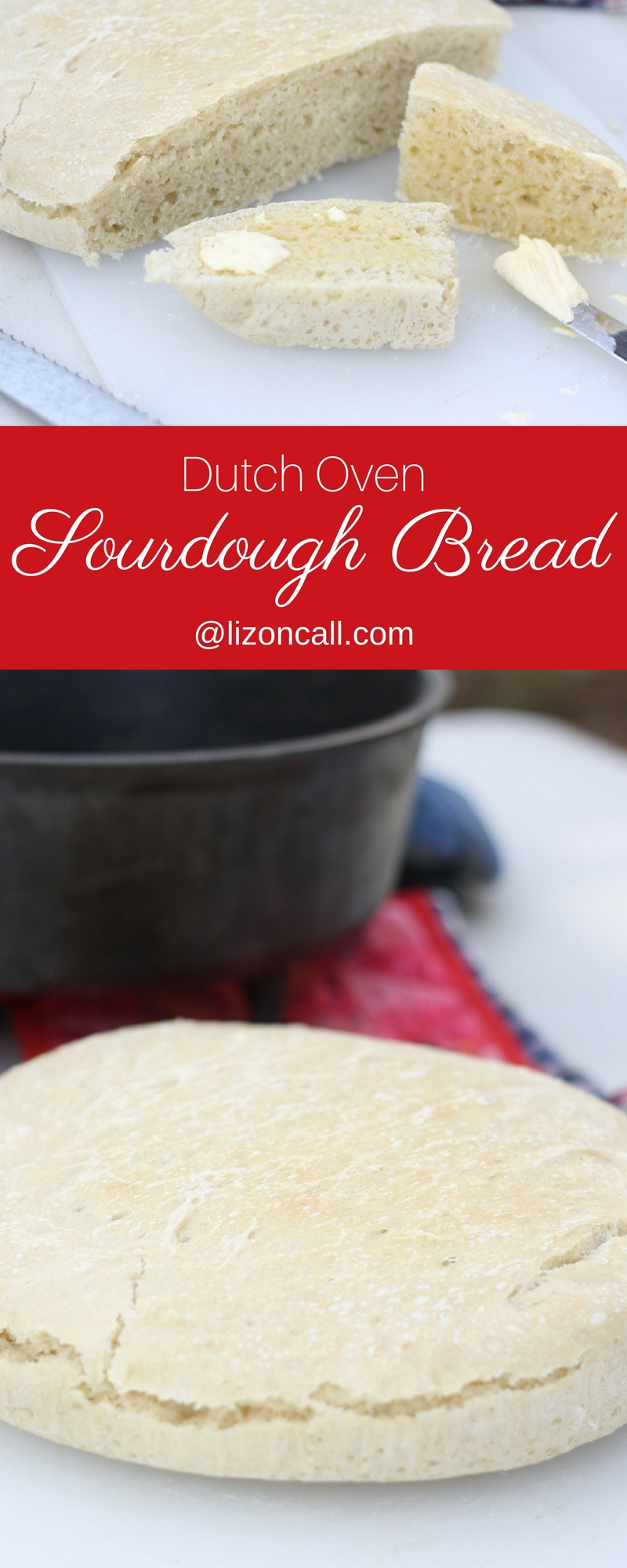 Dutch oven cooking has become one of our favorite family camping activities and this dutch oven sourdough bread is the one thing we always must make.