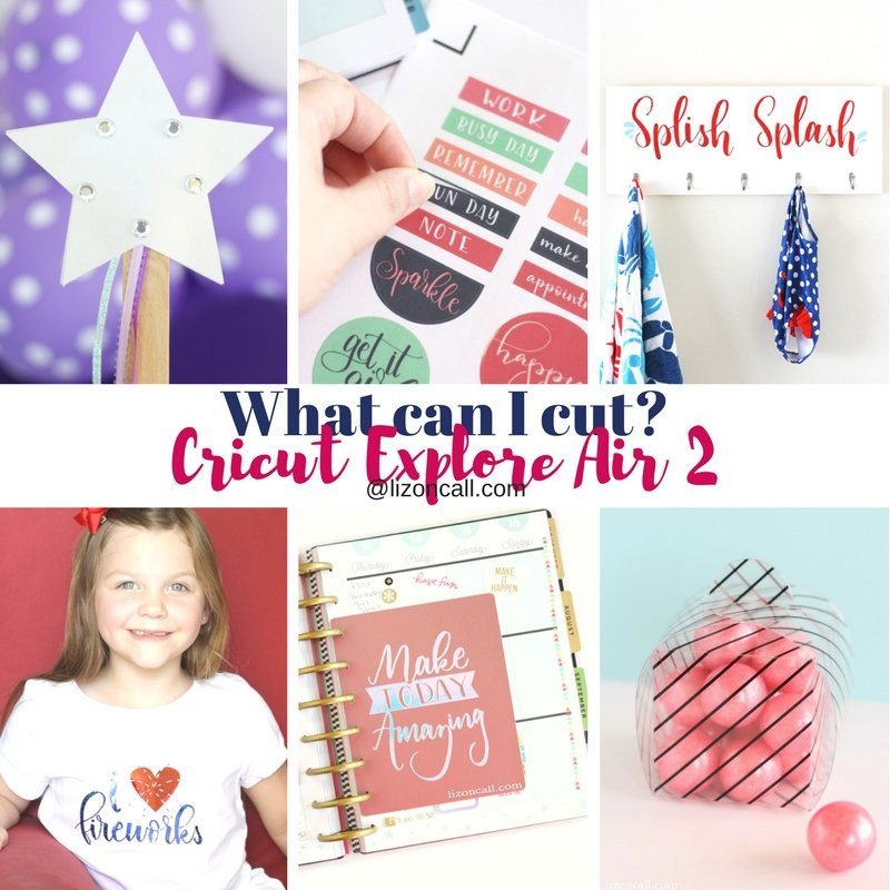 Cutting machines are so fun. But, have you ever wondered, what can I cut with my cricut?