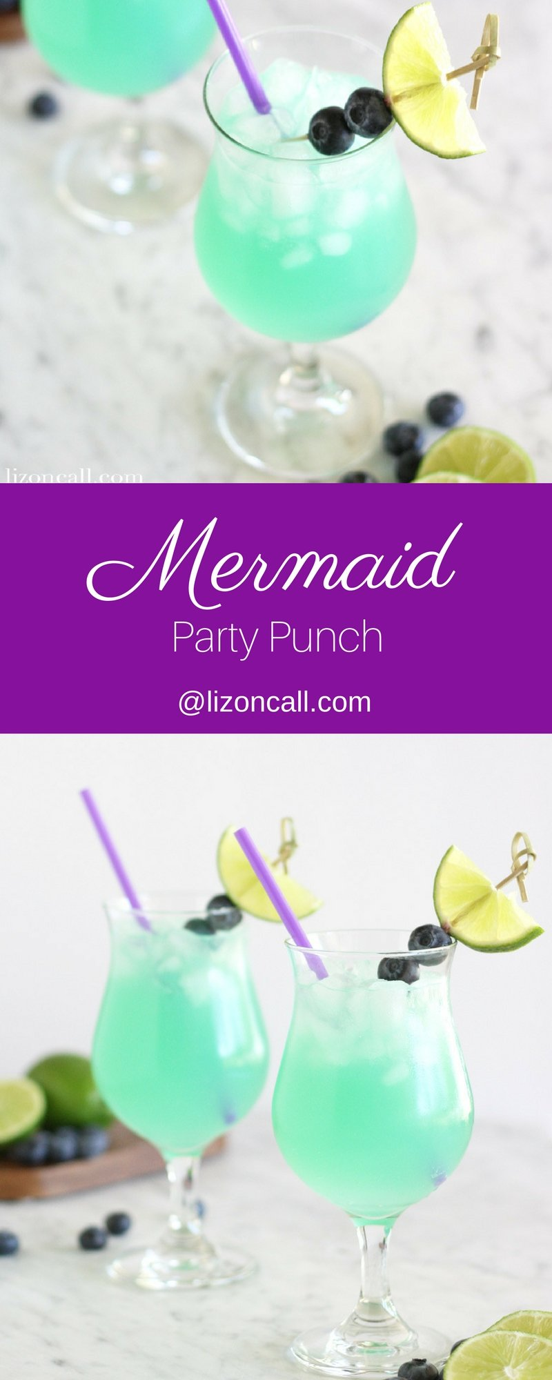 non alcoholic mermaid party punch recipe liz on call. Black Bedroom Furniture Sets. Home Design Ideas