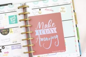 DIY Planner Dashboard