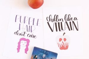 Disney Descendants 2 Free Printables
