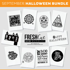Halloween Cut Files