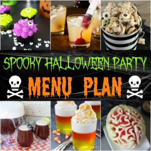 Spooky Halloween Party Menu Plan
