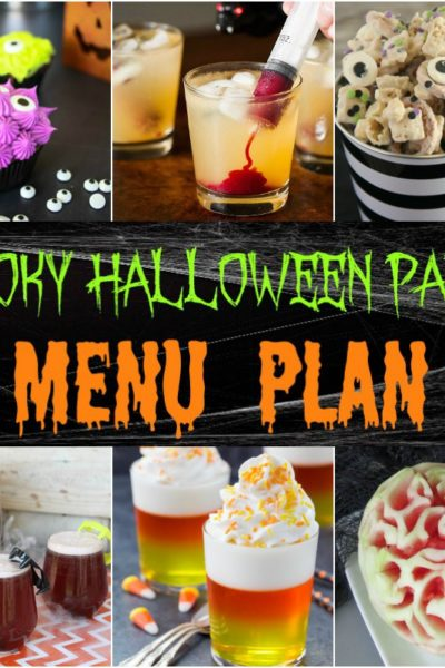 Spooky Halloween Party Menu Plan