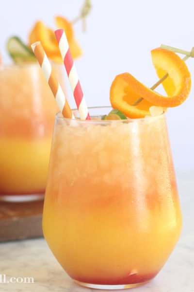 Arizona Sunset Mocktail Party Punch