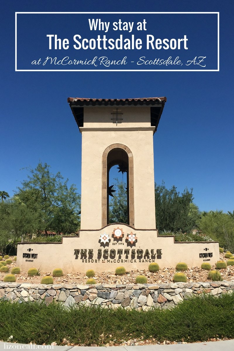 The Scottsdale Resort at McCormick Ranch in Scottsdale, AZ is a beautiful oasis to take a much needed break. #ad #thescottsdaleresort