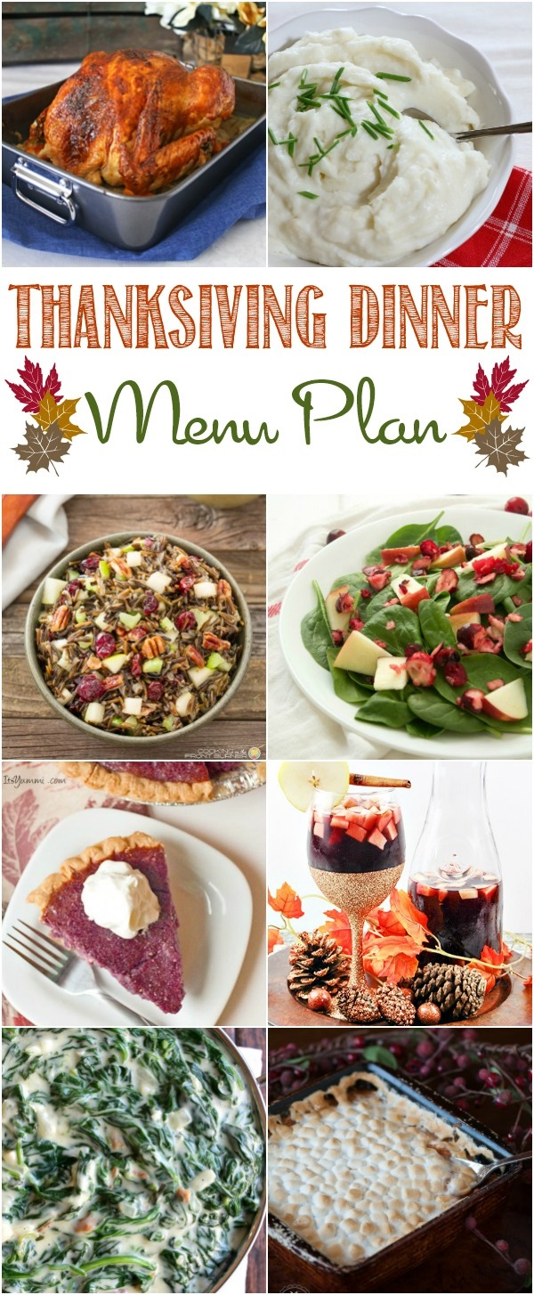 Create a holiday meal that your guests won't be able to stop talking about with the help of this Thanksgiving menu plan. #thanksgiving #menuplan