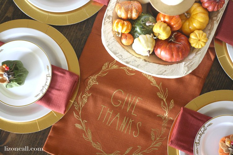 Putting together a beautiful festive table doesn't have to be difficult. See how to create an easy Thanksgiving tablescape by adding to what you already have at home.