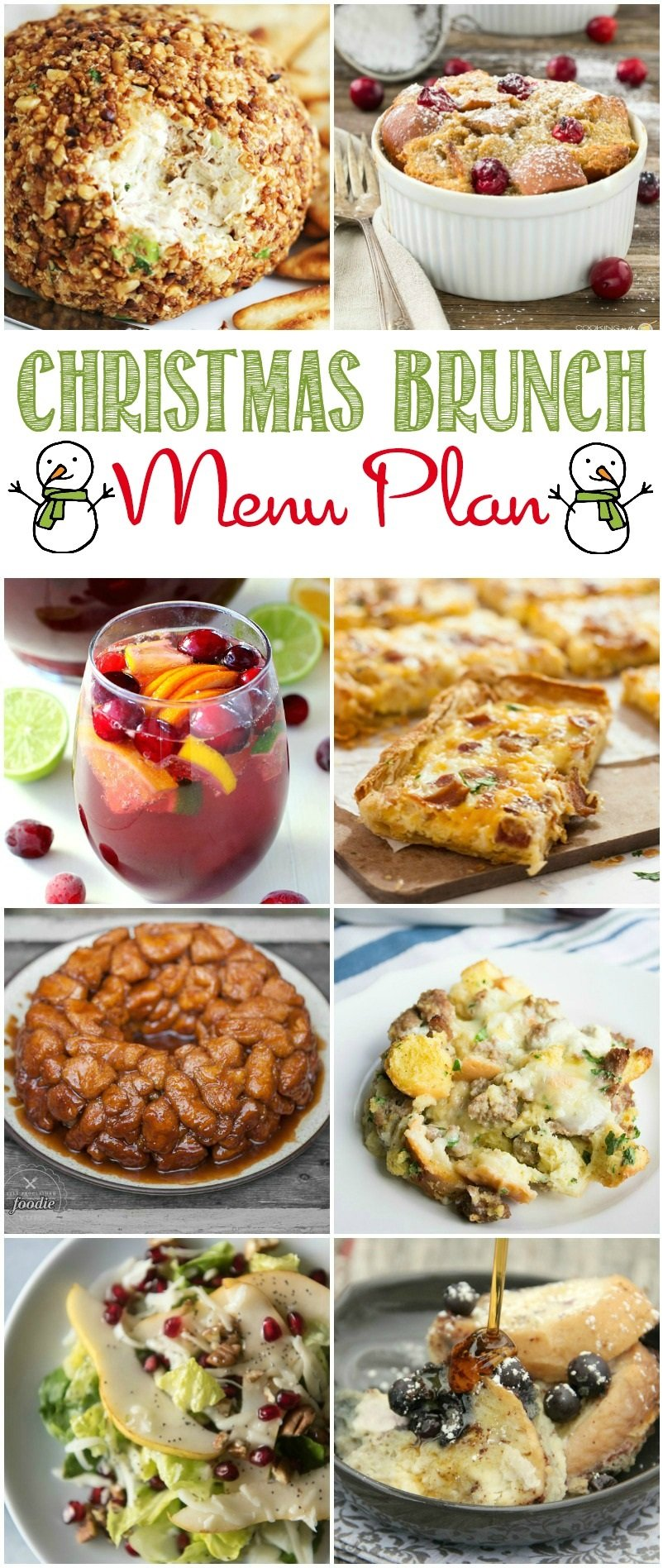 christmas brunch menu plan liz on call. Black Bedroom Furniture Sets. Home Design Ideas