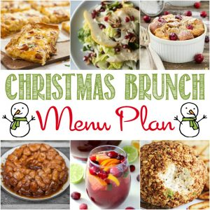 Christmas Brunch Menu Plan