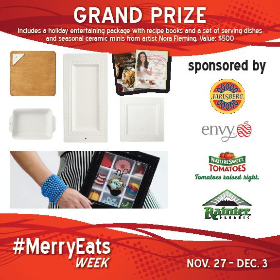 #merryeats Grand Prize giveaway