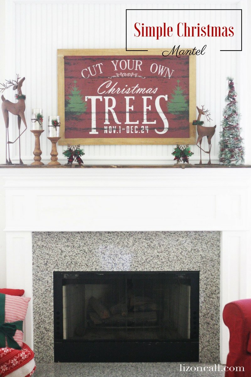 Creating a beautiful and festive holiday mantel doesn't need to cost a lot or take a lot of time. Here are some tips on how to create a simple Christmas mantel.