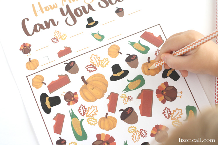Keep those little ones entertained while you're busy in the kitchen getting all the food ready with these Thanksgiving kid's table printables.