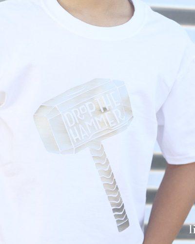 Drop The Hammer Cut File | DIY Thor Shirt