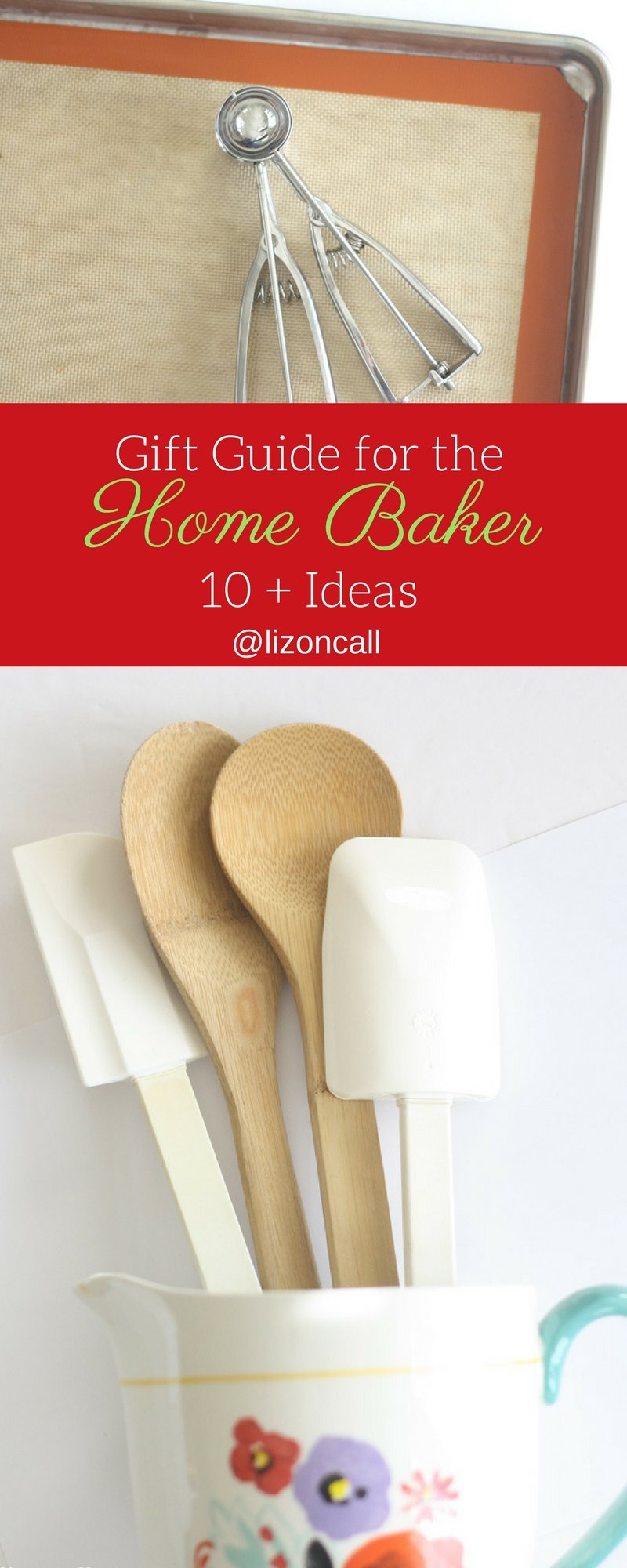 If you know a guy or gal that loves cooking and baking, this Christmas buy them something they can use in their favorite room in the house, the kitchen!  Check out these 10 gifts for the home baker. #giftguide #bakinggiftguide #homebaker #christmas