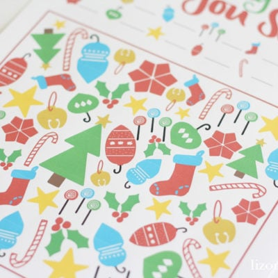 Free Printable Christmas Activities for Kids