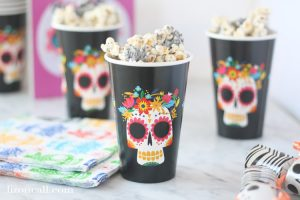 Cookies and Cream Popcorn for Disney's Coco