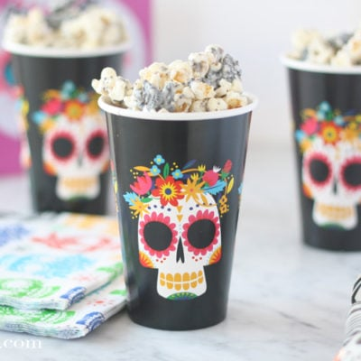 Cookies and Cream Popcorn for Disney's Coco