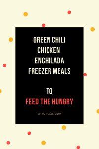 Green Chili Chicken Enchilada Casserole – Freezer Meal