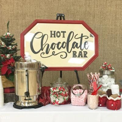 DIY Hot Chocolate Bar Sign