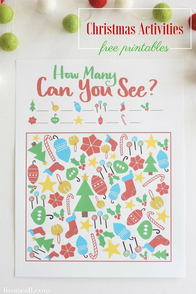 get the kids excited for christmas with these fun free printable christmas activities they - Free Printable Christmas Activities