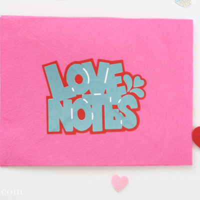 Love Notes Free SVG Cut File