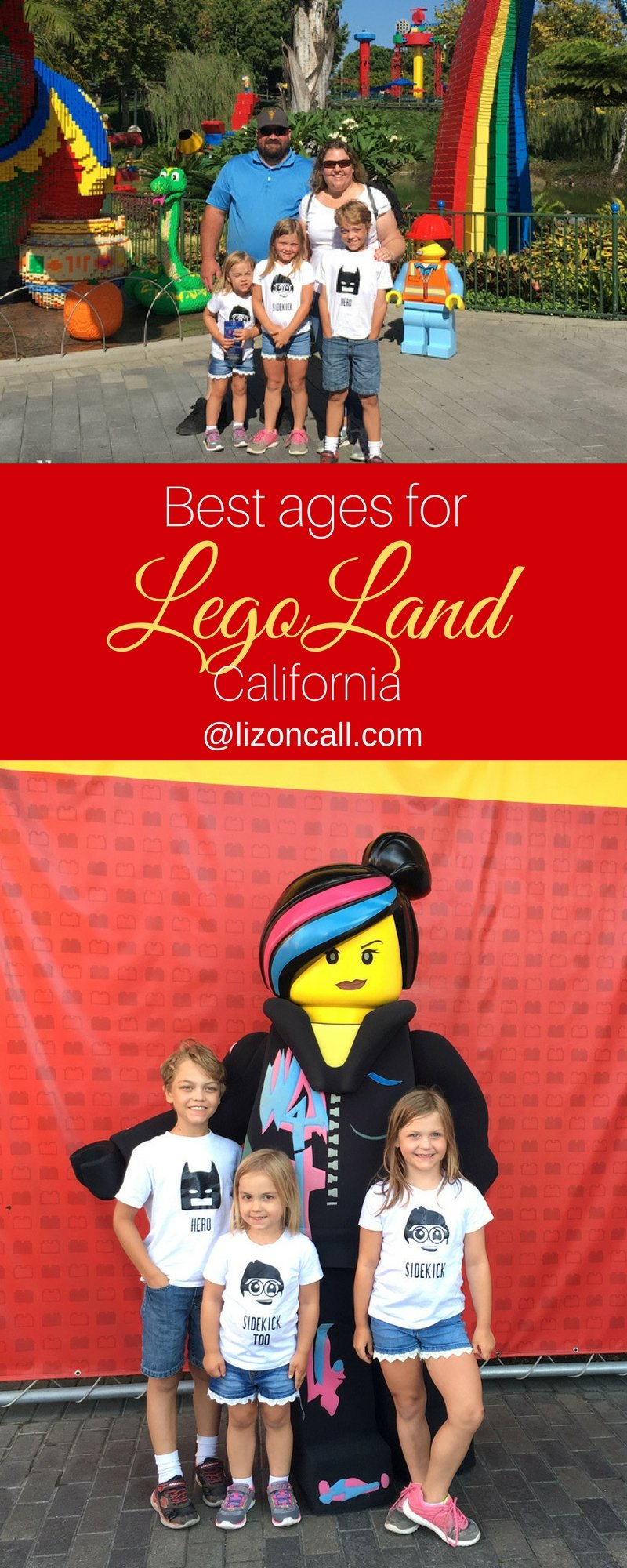 Planning a vacation for the family to Legoland?  Before you head to the park, make sure you know the best ages for Legoland California.