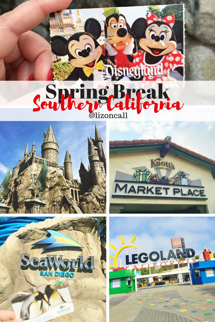 There is so much going on over Spring Break this year in Southern California, you won't want to miss out on any of the fun. #southerncalifornia #familytravel #springbreak