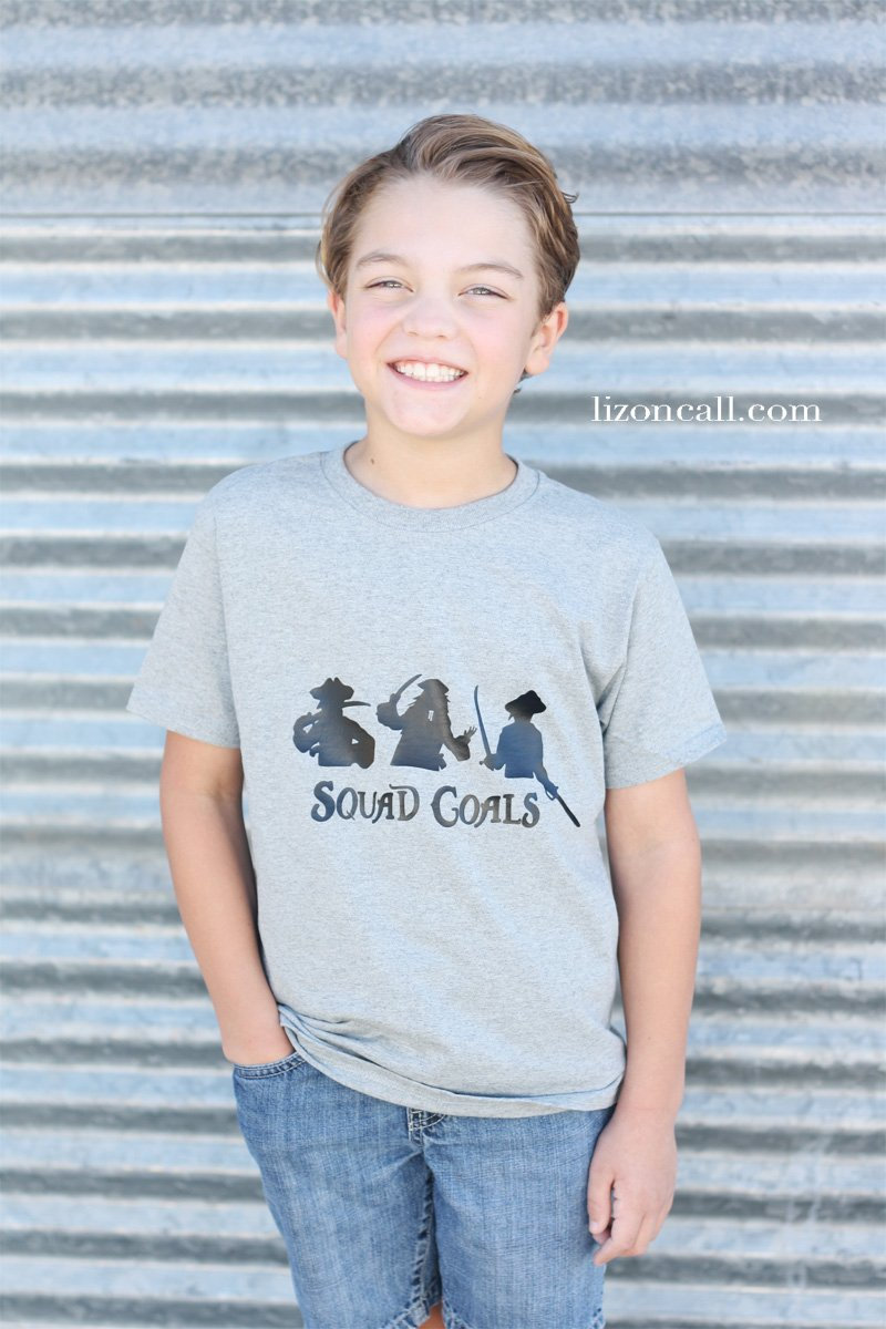 Get the free cut files to make these squad goals DIY Disney shirts for your next trip to Disney World or Disneyland . They will surely help you find your squad while at the parks. #DisneyWorldshirts #DIYDisneyshirts #Disneylandshirts