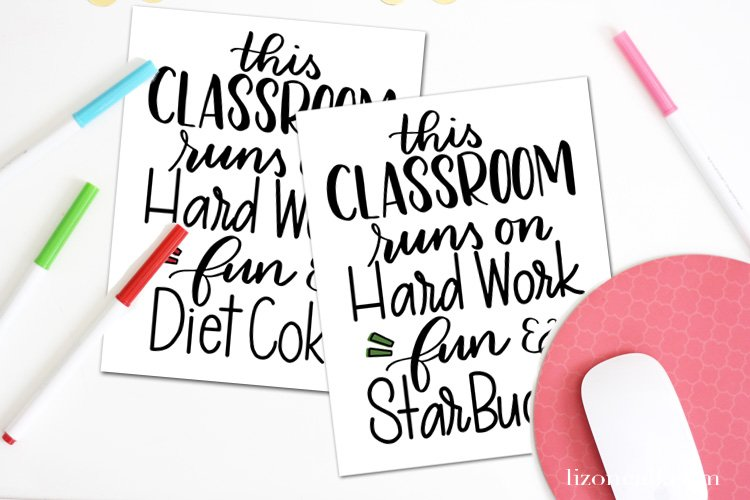 Give teachers what they want this year and send them a gift card. Make your simple teacher appreciation gift idea into something extra special with this cute free printable. #teacherappreciation #giftidea