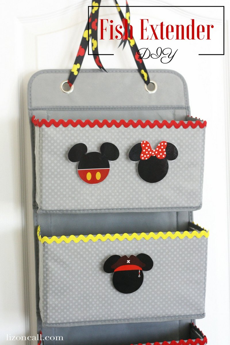 Headed on a Disney Cruise soon? Make this no sew Disney Cruise fish extender DIY to take part in some added extra magic while on board. Kids and adults love participating in the Disney Cruise Fish Extender program. #disneycruise #fishextenderdiy