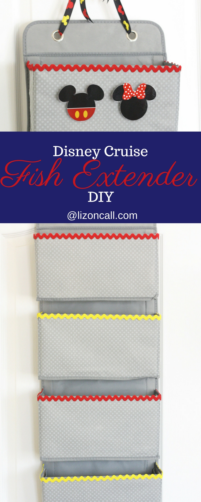 Headed on a Disney Cruise soon? Make this no sew Disney Cruise fish extender DIY to take part in some added extra magic while on board. Kids and adults love participating in the Disney Cruise Fish Extender program.#fishextenderdiy #disneycruise