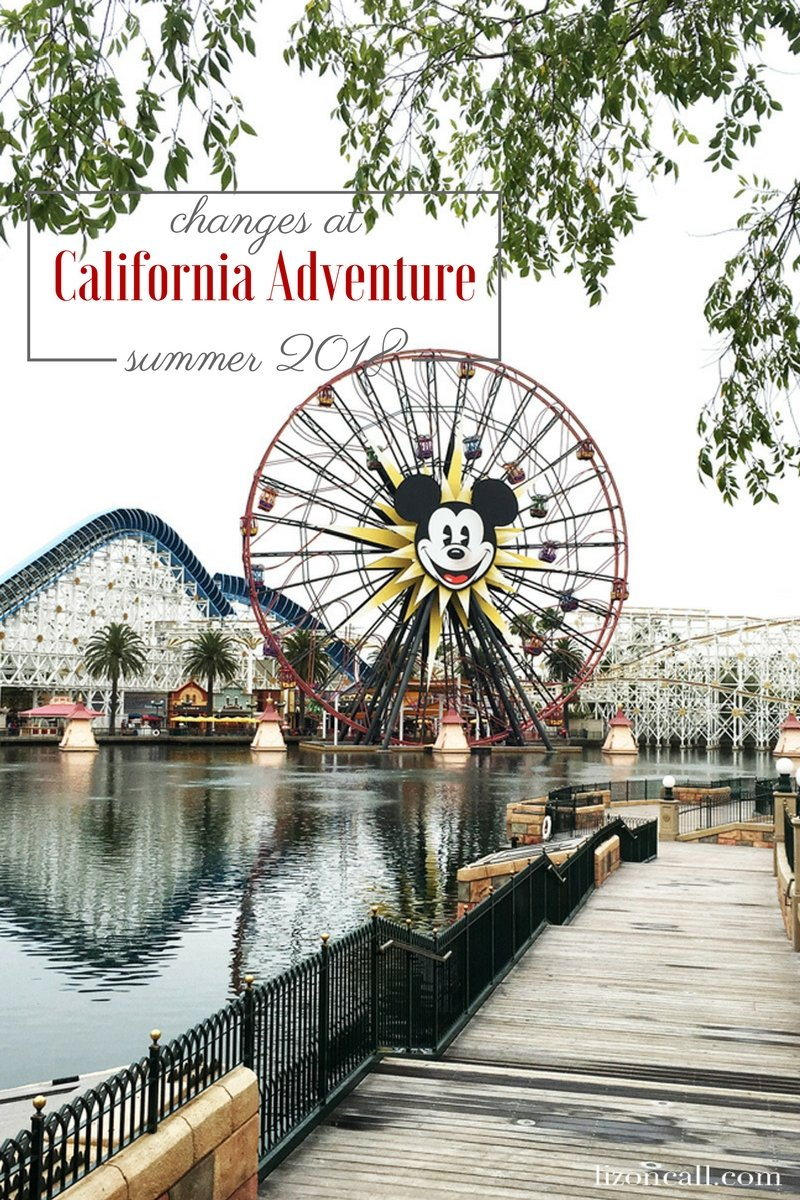 The summer of 2018 is bringing changes to Disney California Adventure. If you aren't aware of what changes are coming to Disney California Adventure this summer, keep reading to find out about all of the magic that's taking place.