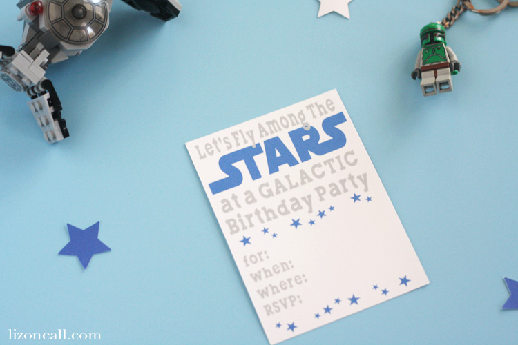 Let all the Jedi know about the Galactic birthday party with these Solo inspired Star Wars birthday party invitations. They are super easy to make using the print and cut feature of your Cricut cutting machine.