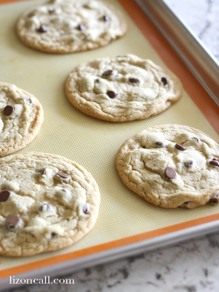 These chocolate chip cookies are going to be your go to cookie.  Family, friends, neighbors and even teachers are going to be requesting you make these all the time.