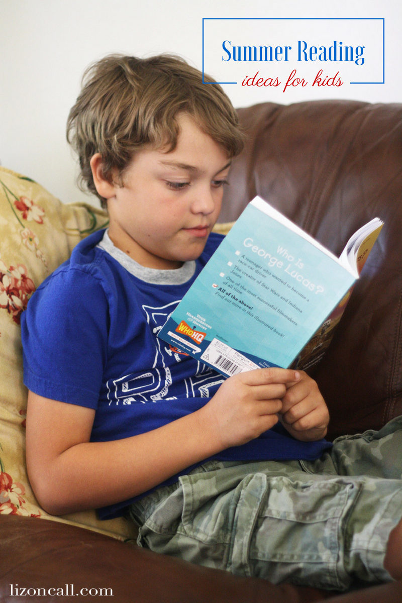 We recently found a book series that my little readers love, and I thought I'd come up with some summer reading ideas for kids to keep them reading all summer long.