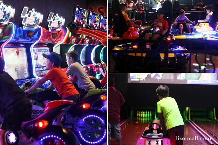 Jake's Unlimited has arcade games, bumper cars, mini bowling
