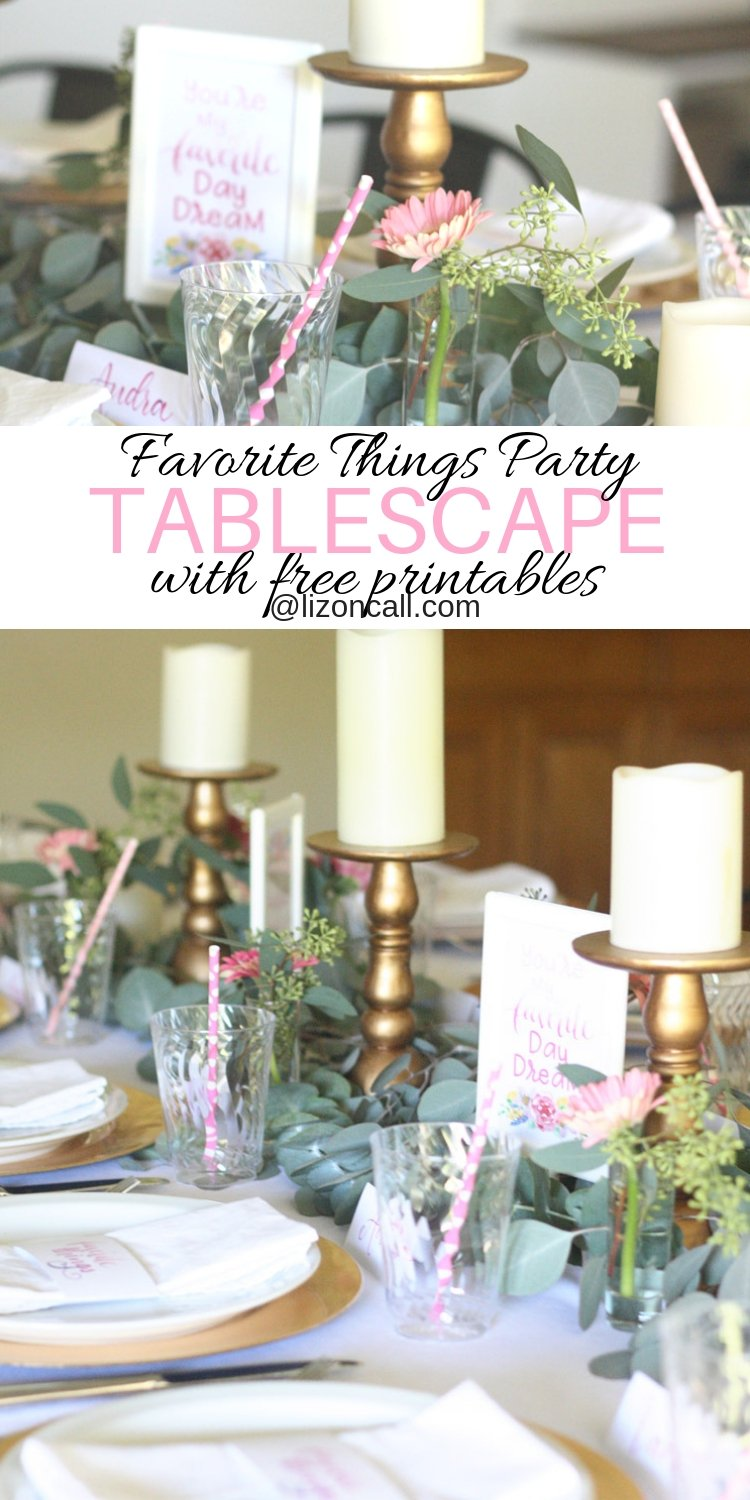 These Free Favorite Things Party Printables, ideas and tips will help make throwing a favorite things party super easy.