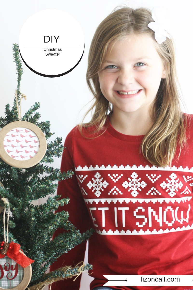 Can't find the perfect Christmas Sweater this holiday season? You can create a DIY Christmas Sweater using your cutting machine and the Cricut EasyPress 2.
