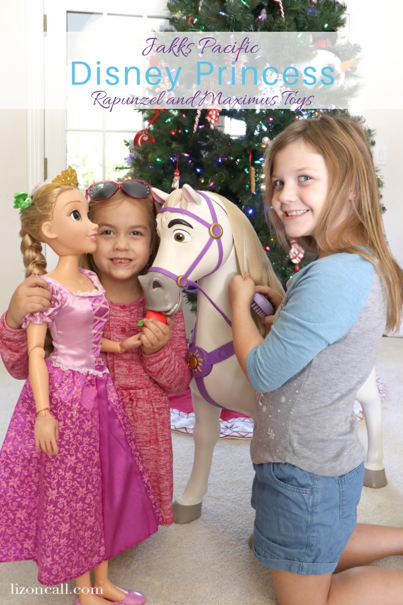 Disney Princess lovers are going to love seeing these Jakks Pacific Disney Princess Rapunzel Toys under the tree this year.
