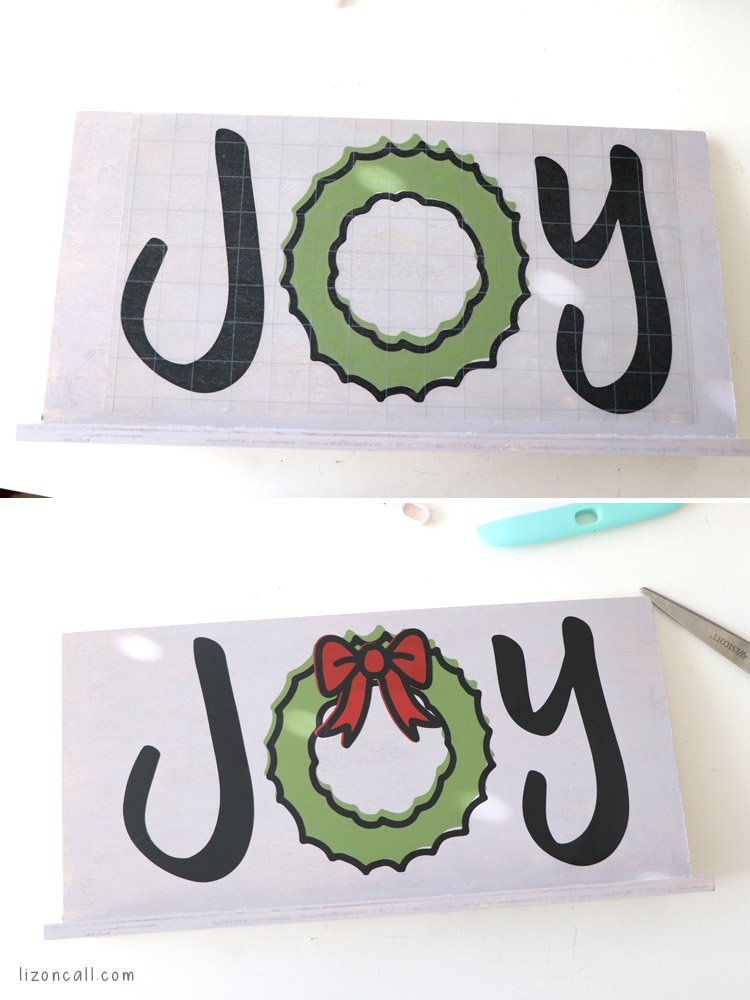 This DIY Christmas sign would make a great last minute Christmas gift or Christmas decoration for your home.