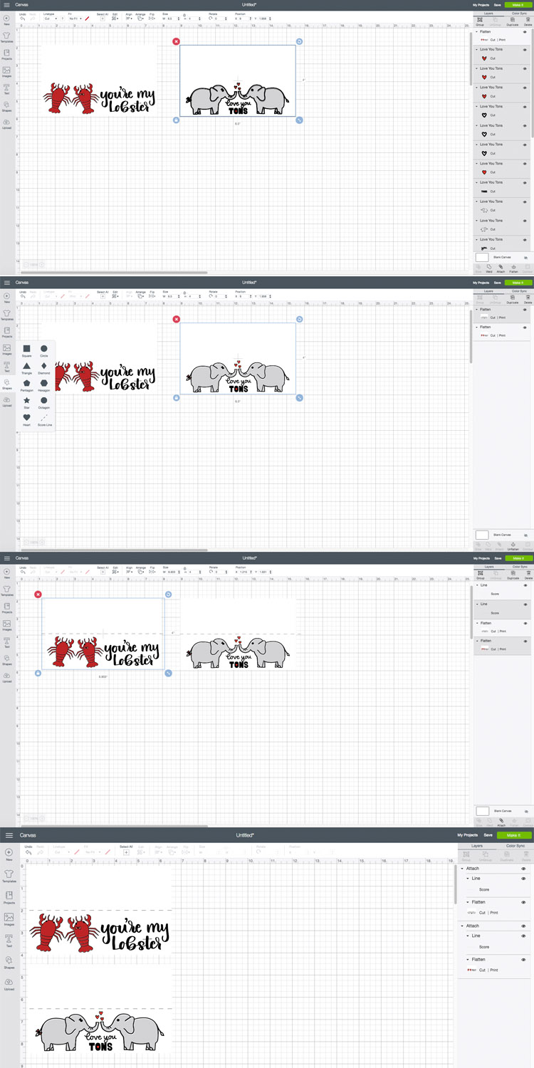How to use and SVG for print and cut projects in Cricut Design Space.