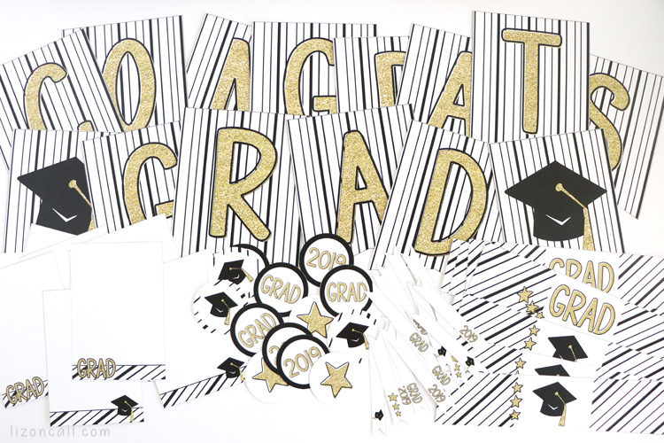 Here are some Easy Graduation Party Ideas to make hosting a graduation party at home a bit less stressful. Free graduation party printables