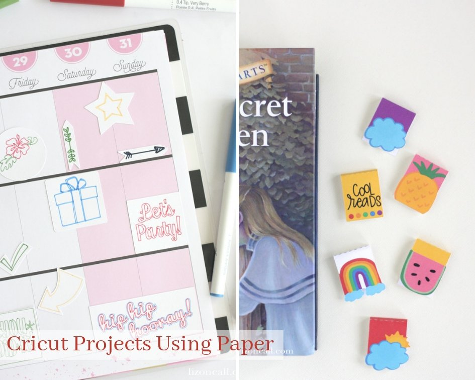 Take that machine out of the box and start crafting! Try one of these 25 + Cricut Projects For Beginners to get familiar with Cricut. Cricut projects with paper