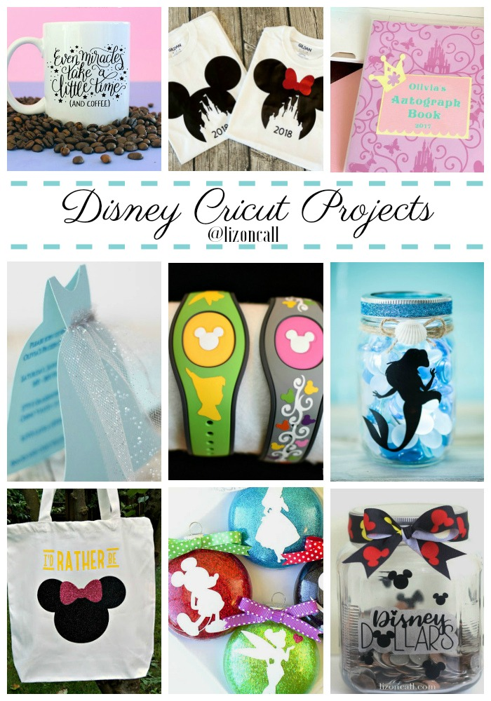 40 magical projects to make with your Cricut. Disney Cricut projects
